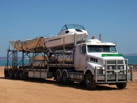 Boat Terminal Transport & Storage - reliable trouble free road transport